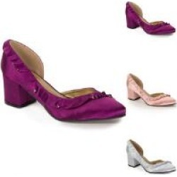 Touch of Ruffles Pump by EY Boutique
