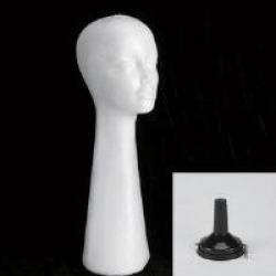 Tall Styrofoam Styling Head Kit