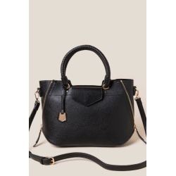 Kinsley Satchel - Black found on MODAPINS from Francesca's Collections for USD $58.00