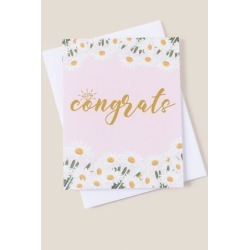 Congrats Daisy Card - Pink found on Bargain Bro India from Francesca's Collections for $5.50