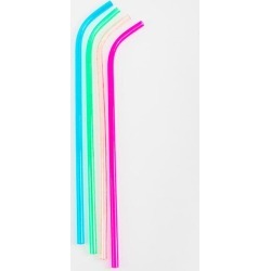 Wine Bottle Straws - Multicolor found on Bargain Bro Philippines from Francesca's Collections for $10.00