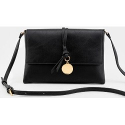 Hallie Crossbody Handbag - Black found on Bargain Bro from Francesca's Collections for USD $25.84