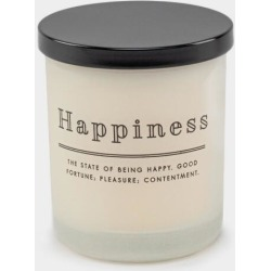 DW Home Happiness Candle - White