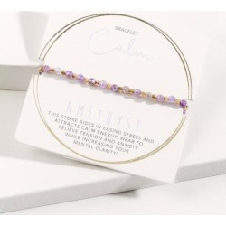 Powerstone Beaded Bracelet - Purple found on Bargain Bro India from Francesca's Collections for $28.00