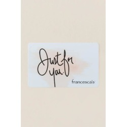 francesca's® Gift Card - $75 found on Bargain Bro India from Francesca's Collections for $75.00