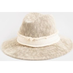 Mai Wide Brim Panama Hat - Cream found on Bargain Bro from Francesca's Collections for USD $25.84