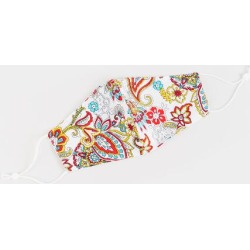 Jocelyn Paisley Reusable Face Mask - Multi found on MODAPINS from Francesca's Collections for USD $10.00