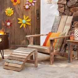 Reclaimed Adirondack Chair found on Bargain Bro India from Sundance for $395.00