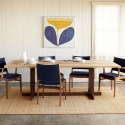 Great Plains Trestle Dining Table found on Bargain Bro Philippines from Sundance for $2295.00