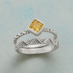 Kayo Stacking Rings found on Bargain Bro India from Sundance for $54.99