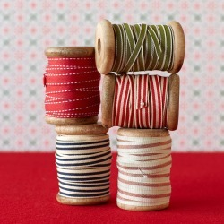 Grosgrain Ribbons, Set Of 5