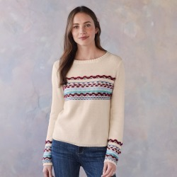 Peaceful Mountain Sweater found on Bargain Bro India from Sundance for $49.99