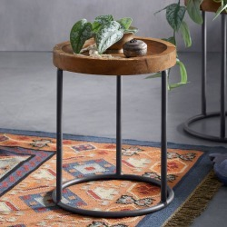 Garrison Side Table found on Bargain Bro Philippines from Sundance for $295.00