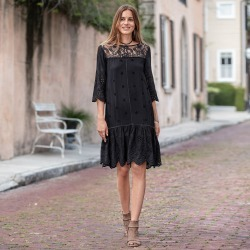 Nadine Dress - Petites found on Bargain Bro India from Sundance for $138.00