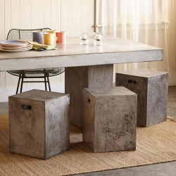 Gravitas Cement Dining Stool found on Bargain Bro Philippines from Sundance for $195.00