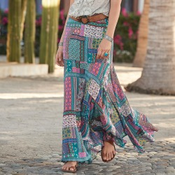 Findlay Patchwork Skirt found on Bargain Bro India from Sundance for $89.99