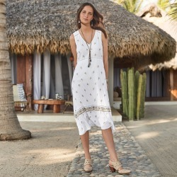 Marcheline Dress Petite found on Bargain Bro India from Sundance for $149.99