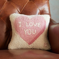 I Love You Pillow found on Bargain Bro India from Sundance for $65.00
