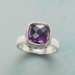 Amethyst Ottoman Ring found on Bargain Bro India from Sundance for $79.99