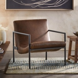 Griffith Leather Club Chair found on Bargain Bro Philippines from Sundance for $2995.00
