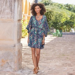 Azul Floral Dress found on MODAPINS from Sundance for USD $148.00