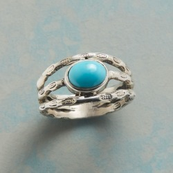 Turquoise Three Part Ring found on Bargain Bro India from Sundance for $44.99