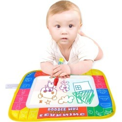 Water Drawing Toys Water Drawing Board & 1 Magic Pen Baby Play Mat found on Bargain Bro India from tomtop for $0.52