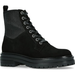 Gianvito Rossi Martis Lace-Up Boots found on MODAPINS from harrods.com for USD $1141.16