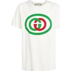 Gucci Interlocking G Logo T-Shirt found on Bargain Bro UK from harrods.com