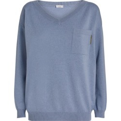 Brunello Cucinelli Embellished Cashmere Sweater found on Bargain Bro India from Harrods Asia-Pacific for $1697.04