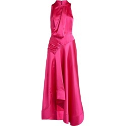 Acler Sleeveless Satin Palmera Maxi Dress found on MODAPINS from harrods (us) for USD $441.00