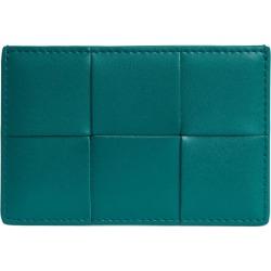 Bottega Veneta Leather Intrecciato Card Holder found on Bargain Bro UK from harrods.com