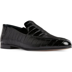 Max Mara Croc-Embossed Leather Loafers found on Bargain Bro UK from harrods.com