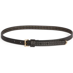 AllSaints Leather Copa Belt found on MODAPINS from harrods.com for USD $64.88