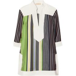 Tory Burch Striped Silk Tunic Top found on Bargain Bro UK from harrods.com