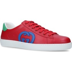 Gucci Multicoloured Leather Ace Sneakers found on Bargain Bro UK from harrods.com