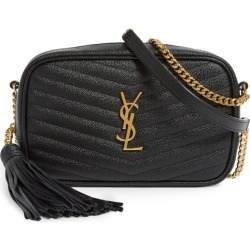 Saint Laurent Small Quilted Leather Lou Camera Bag found on Bargain Bro UK from harrods.com