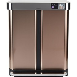 Simplehuman Rectangular Dual Compartment Recycler Bin (58L) found on Bargain Bro Philippines from Harrods Asia-Pacific for $231.42