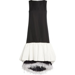 Huishan Zhang Feather-Trim Jodie Dress found on MODAPINS from Harrods Asia-Pacific for USD $655.26