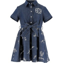 Ermanno Scervino Junior Denim Logo Dress found on MODAPINS from harrods.com for USD $430.70