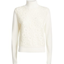 Chloé Lace-Embroidered Sweater found on Bargain Bro from harrods.com for £654