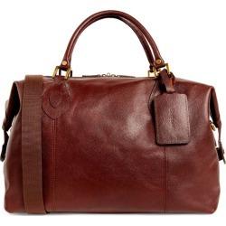 Barbour Leather Travel Explorer Bag found on Bargain Bro UK from harrods.com