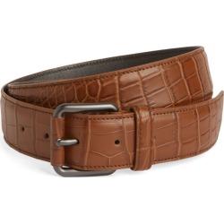 Bottega Veneta Crocodile Leather Belt found on Bargain Bro UK from harrods.com