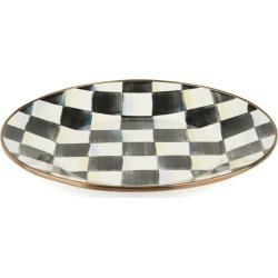 MacKenzie-Childs Courtly Check Enamel Dinner Plate (25cm) found on Bargain Bro UK from harrods.com