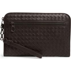 Bottega Veneta Small Leather Intrecciato Document Case found on Bargain Bro UK from harrods.com