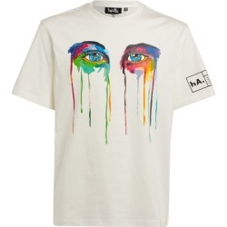 Haculla Graphic Eyes T-Shirt found on MODAPINS from harrods.com for USD $182.44