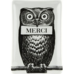 Fornasetti Rectangular Porcelain Ashtray found on MODAPINS from Harrods Asia-Pacific for USD $123.83