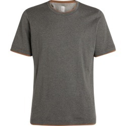 Eleventy Cotton T-Shirt found on MODAPINS from harrods.com for USD $217.91