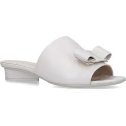 Salvatore Ferragamo Leather Valery Sandals found on Bargain Bro UK from harrods.com