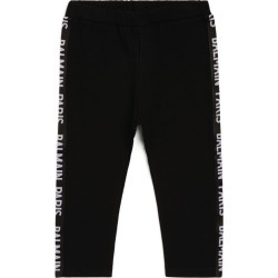 Balmain Kids Side-Tape Leggings (3-36 Months) found on Bargain Bro UK from harrods.com